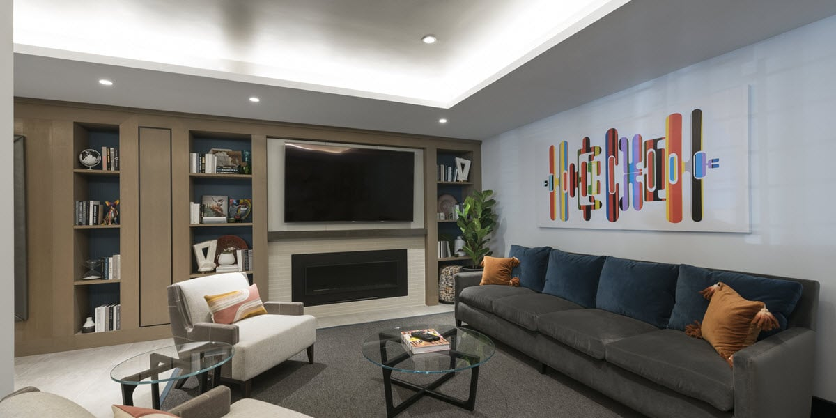 Communal resident lounge