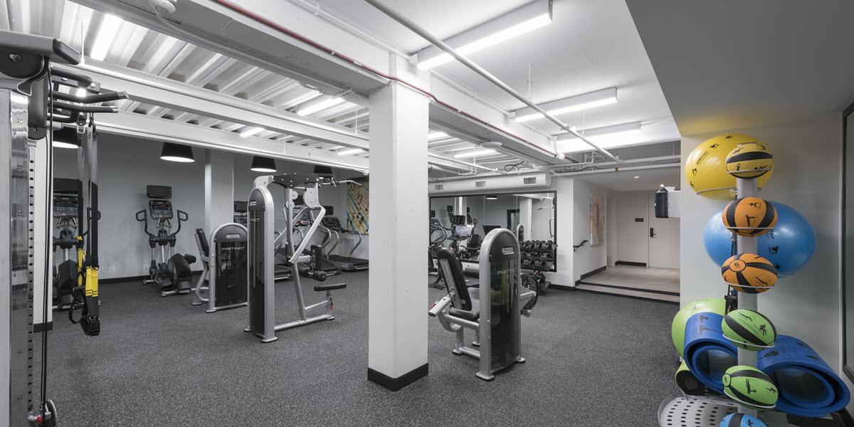 Boutique fitness center